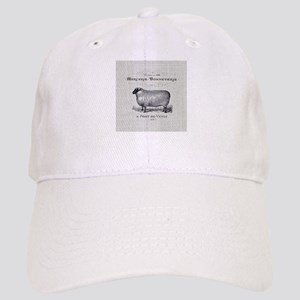 farm animal sheep farmhouse Cap